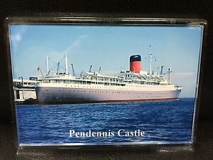 Union Castle Line PENDENNIS CASTLE Photo Fridge Magnet Mail Ship Liner a