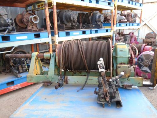 Braden Winch Hydraulic Model AHS10-23A - Excellent Condition - 30000lbs Capacity