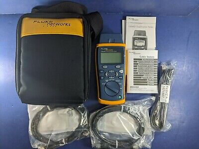 New Fluke Cable Iq Qualification Tester Soft Case Accessories