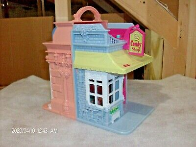Fisher-Price Loving Family Sweet Streets, Candy Shop & Dance Studio