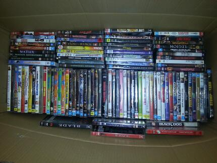 big box over 140 of DVDs / Blu rays and TV series Orange Orange Area Preview