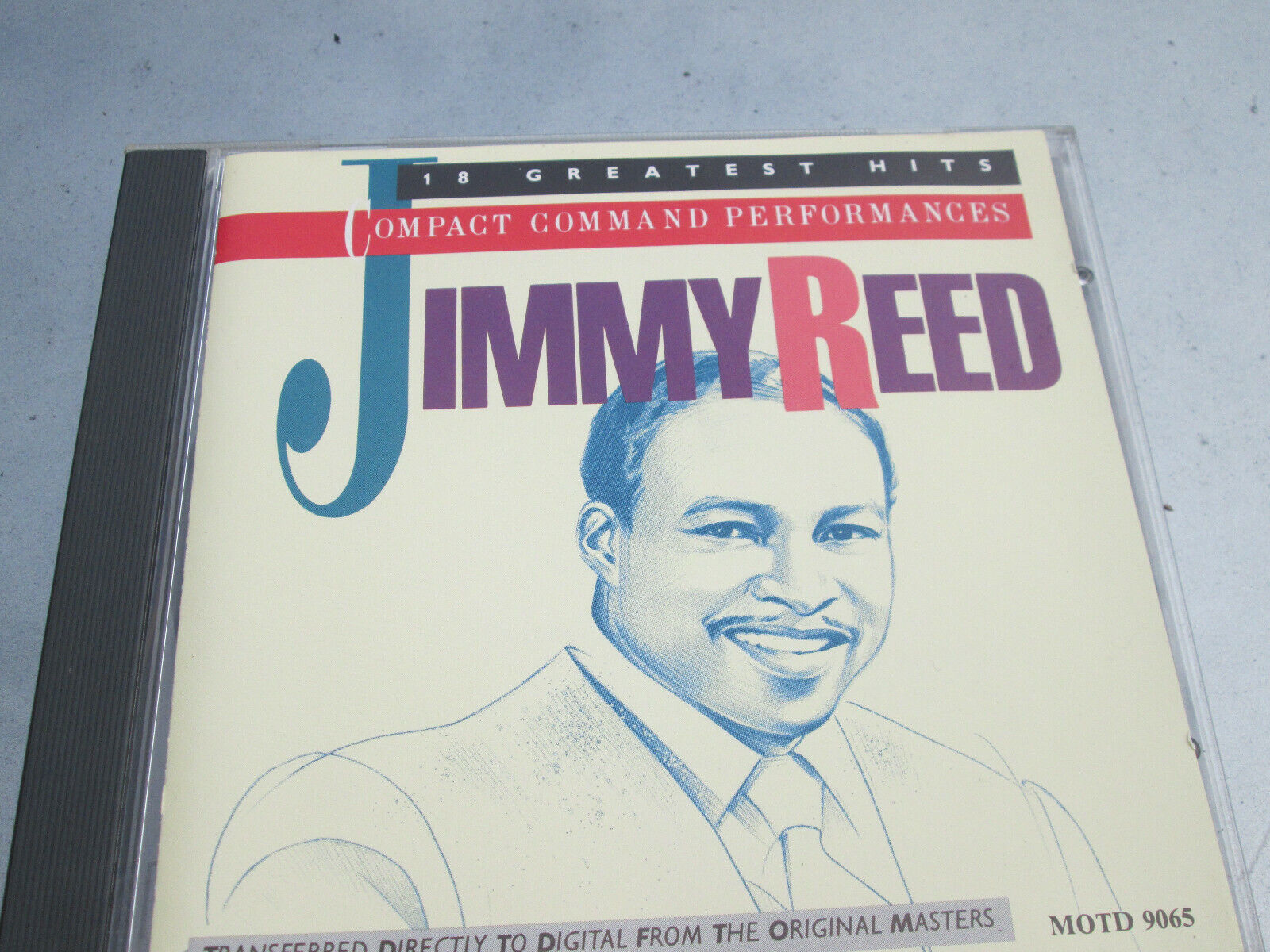 JIMMY REED COMPACT COMMAND PERFORMANCES BLUES CD - NICE CONDITION - $11.99