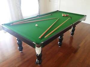 Pool Table 8 Ft & Slate - Excellent Condition!! Vermont South Whitehorse Area Preview