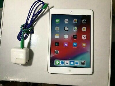 Apple iPad mini 2 16GB, Wi-Fi + Cellular (Unlocked),7.9in  Silver Power key Fail