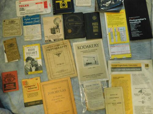 Kodak Master Guides Kodakery Photography Photo guides Lot