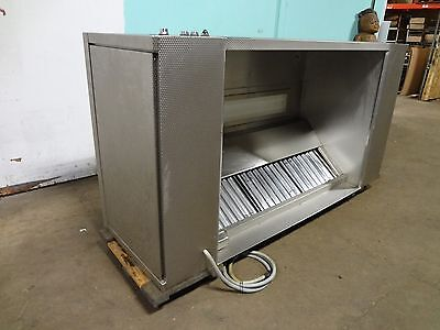 Lc Systems Rigidized S.steel 94 Lighted Tp1 Exhaust Hood Power Control Box