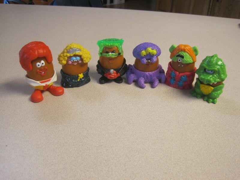 McDonalds 1996 (1995)  Chicken McNugget (Nugget)  Buddies Halloween Complete Set