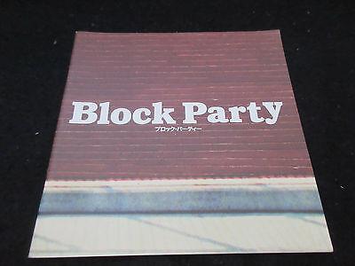 Block Party Japan Film Program Book Michel Gondry Kanye West Lauryn Hill Mos Def