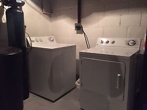 General and Electric Washer and Dryer