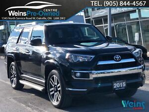 2015 Toyota 4Runner LIMITED| NAVI| CAMERA| SUNROOF| LEATHER