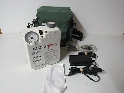 Precision Medical Pm65hg Easy Go Vac Portable Vacuum Pump Complete Free Shipping