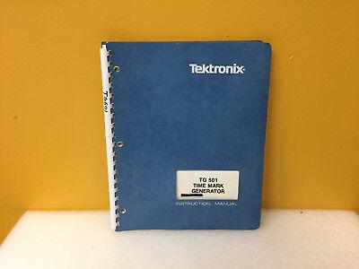 Tektronix 070-1576-02 Tg501 Time Mark Generator Instruction Manual
