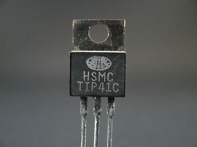 2x Tip41c - Npn Transistor - Taitron Nos