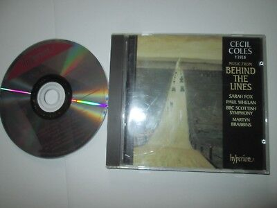 Cecil Coles Behind The Lines Sara Fox Paul Whelan BBC Scottish Symphony CD Album (Cecil Coles)