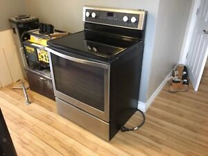 Stainless steel whirlpool oven