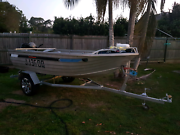 4m SeaJay tinny 25hp Yamaha  Caboolture Caboolture Area Preview