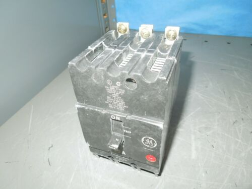 Ge Tey390 90a 3p 480v Circuit Breaker Used