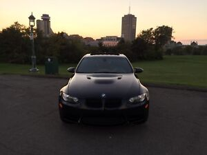 Bmw M3 2008 manuelle 6vitesses triple Black
