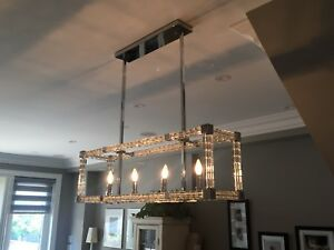 Light fixtures from new home for sale