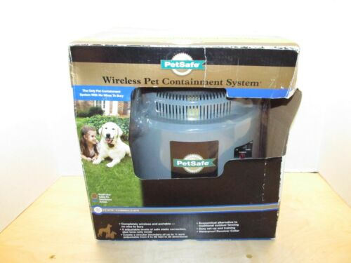 PetSafe Wireless Pet Containment System Fence Transmitter Base w/ Power Adapter