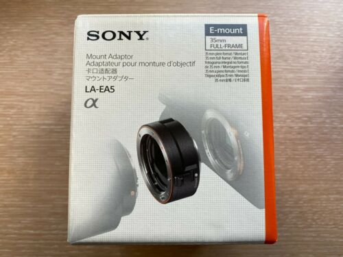 【NEW】Sony LA-EA5 A-Mount to E-Mount Adapter - BRAND NEW.