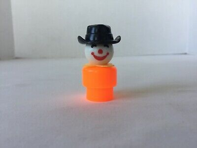 Vintage Fisher-Price Little People WHOOPS Clown WRONG FACE #675 #680