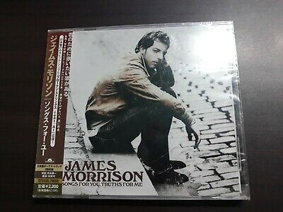 James Morrison - Songs For You, Truths For Me Japan CD / UICP-1105 / Sealed