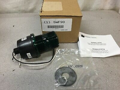 New Federal Signal Lp3m-120g Streamline Low Profile Strobe Light 12 Mnpt 120v