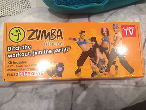 Zumba fitness pack with watch and maraca sticks Caroline Springs Melton Area Preview