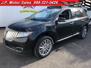 2013 Lincoln MKX AWD, PANORAMIC SUNROOF.