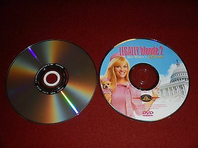 Dvd Double Feature   Legall Blonde 1   2 Red White   Blonde
