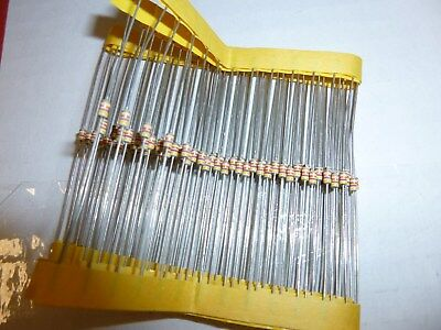 1 Meg Ohm 18 Watt 5 Carbon Film Resistor 100 Pieces Prime Parts Us Seller