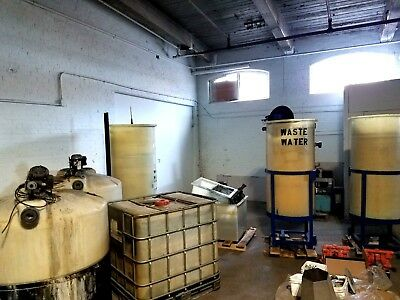 Waste Treatment System Metal Solids cleans water Reuse Clear Water Green Process