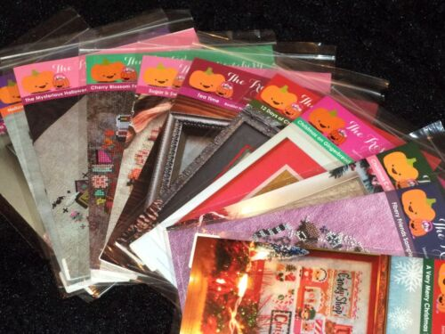 The Frosted Pumpkin Stitchery YOU CHOOSE! Counted Cross Stitch Patterns VARIETY!