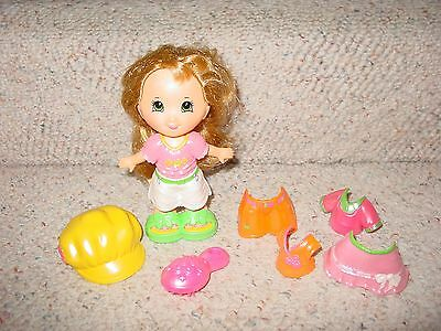 FISHER PRICE SNAP N STYLE BLONDE DOLL WITH FASHIONS