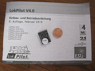 ESU 64614 (61601/54614) 21-polig Quad-LokPilot V4 Decoder mfx M4/MOT/DCC/SX NEU online kaufen