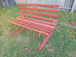Retro Garden Bench Seat Coopers Plains Brisbane South West Preview