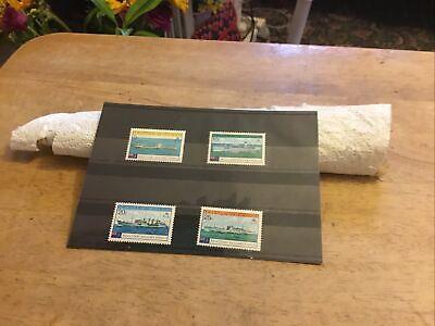 Tristan Da Cunha Unmounted Mint Stamp Set