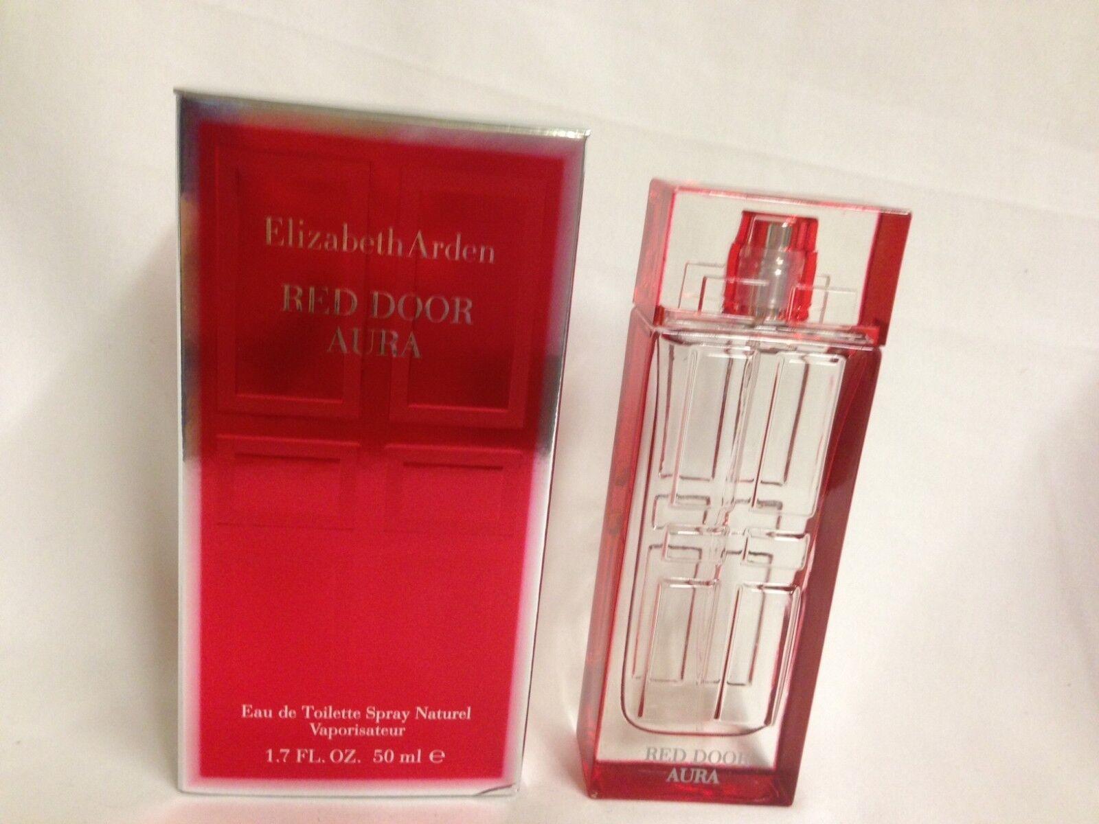 Red Door Aura By Elizabeth Arden Perfume For Women 17 Oz 50 Ml New