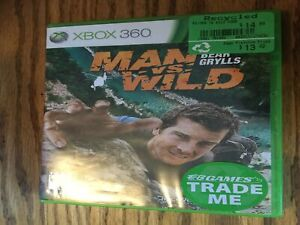 XBOX 360 game...Man vs. wild with Bear Grylls