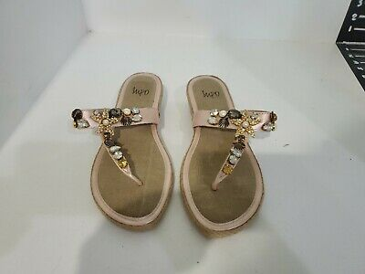 Impo Womens Pink Flip Flop Sandals Size 7.5 M