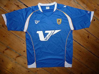 size:L/ NOTTS COUNTY FC shirt soccer jersey AWAY 2007 trikot camiseta maglia  image