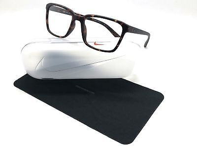 Authentic Nike Eyeglasses NK7096 215 Matte Tortoise Frames 53MM Rx-ABLE