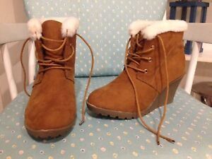 Brand-New Suede Winter Boots