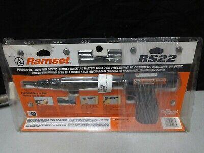 Ramset Rs22 0.22 Caliber Powder Actuated Tool Nail Gun Power Fastening Nailer