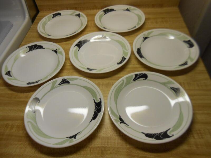 corelle black orchid plates