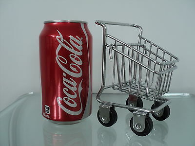 New Business Card Tiny Shopping Cart Holder Fitsfor Store Display Counter