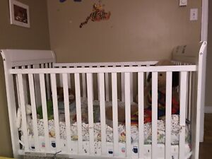 Crib and Dressers