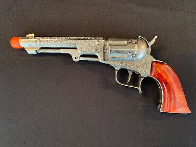 VINTAGE 1950 HUBLEY PIONEER TOY CAP GUN W/Marbled Grips - Excellent!