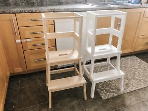 Two Kitchen Helper Stands - Perfect Condition